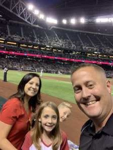 Jobe attended Arizona Diamondbacks vs. Colorado Rockies - MLB - First Responders Thank You on Jun 18th 2019 via VetTix