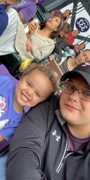 Andrew attended Colorado Rockies vs. San Diego Padres - MLB on Jun 13th 2019 via VetTix