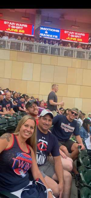 Eric attended Minnesota Twins vs Boston Red Sox - MLB on Jun 19th 2019 via VetTix