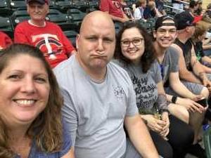 Ronni attended Minnesota Twins vs Boston Red Sox - MLB on Jun 19th 2019 via VetTix