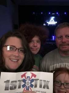Brock attended The Illusionists - Live From Broadway on May 21st 2019 via VetTix