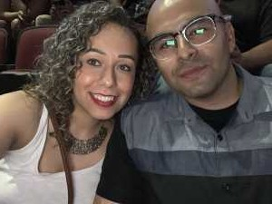Gean attended The Millennium Tour With B2k on May 25th 2019 via VetTix