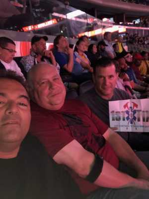Anthony attended Bellator 222 - Machida vs. Sonnen - Live Mixed Martial Arts - Presented by Bellator MMA on Jun 14th 2019 via VetTix