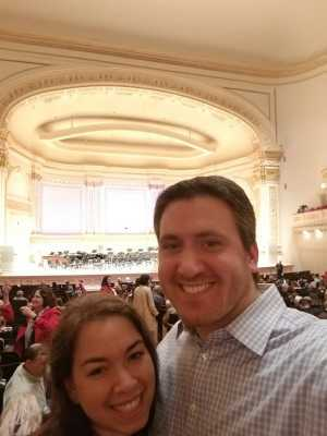 Charlie attended A Symphonic Centennial Celebration featuring Berlioz, Dvorak, Copland, Sousa and a World Premiere by Stephenson on May 29th 2019 via VetTix