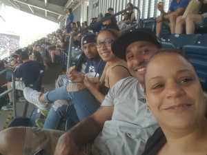 Luis attended New York Yankees vs. San Diego Padres - MLB on May 27th 2019 via VetTix