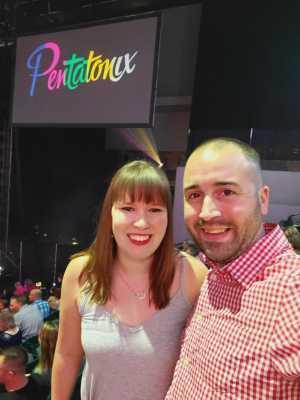 Richard attended Pentatonix: the World Tour With Special Guest Rachel Platten on Jun 22nd 2019 via VetTix