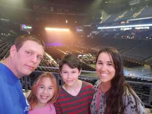 Josh attended Pentatonix: the World Tour With Special Guest Rachel Platten - Pop on Jun 16th 2019 via VetTix