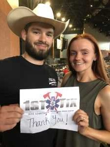 Scot attended Chris Young: Raised on Country Tour - Country on Jun 15th 2019 via VetTix