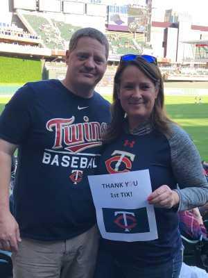 William attended Minnesota Twins vs. Tampa Bay Rays - MLB on Jun 25th 2019 via VetTix