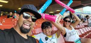 Charles attended Las Vegas Lights vs. New Mexico United - USL - Father's Day Weekend Celebration on Jun 15th 2019 via VetTix