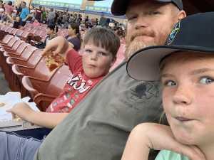 Scott attended Las Vegas Lights vs. New Mexico United - USL - Father's Day Weekend Celebration on Jun 15th 2019 via VetTix
