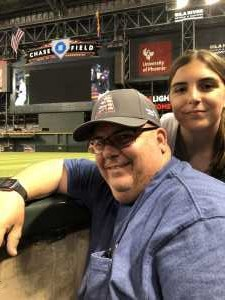 Joe attended Arizona Diamondbacks vs. Colorado Rockies - MLB - First Responders Thank You on Jul 6th 2019 via VetTix