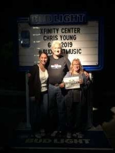 Michael attended Chris Young: Raised On Country Tour on Jun 14th 2019 via VetTix