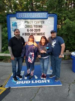 Ralph attended Chris Young: Raised On Country Tour on Jun 14th 2019 via VetTix
