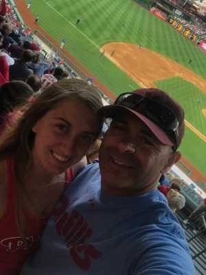 Jonathan attended Philadelphia Phillies vs. Arizona Diamondbacks - MLB on Jun 11th 2019 via VetTix