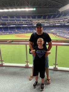 Emilio attended Miami Marlins vs. Washington Nationals - MLB on Jun 27th 2019 via VetTix