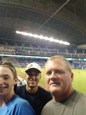 Christopher attended Miami Marlins vs. Washington Nationals - MLB on Jun 27th 2019 via VetTix