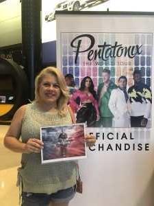 Anthony attended Pentatonix: the World Tour With Special Guest Rachel Platten - Pop on Jun 20th 2019 via VetTix