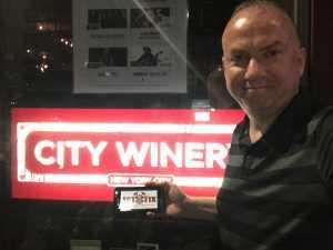 Robert attended City Winery 10th Anniversary - Remembering Gregg Allman - Standing Room Only on Jun 24th 2019 via VetTix