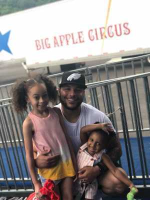 Kevin attended Big Apple Circus - Philadelphia - Circus on Jun 15th 2019 via VetTix