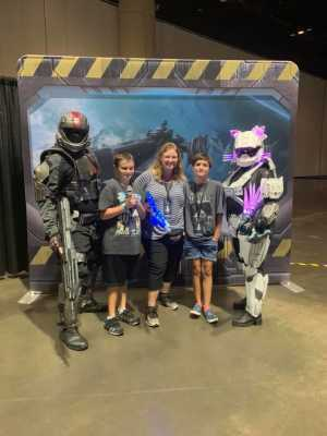 Crystal attended Halo Outpost Discovery Convention - Saturday Only on Jul 6th 2019 via VetTix