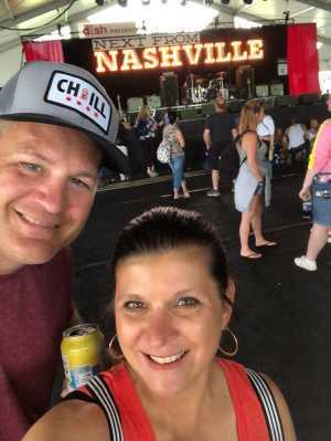 Jeromy  attended Country Lake Shake - 2019 on Jun 21st 2019 via VetTix