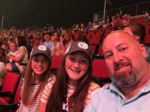 Jeff attended Carrie Underwood: the Cry Pretty Tour 360 - Country on Jun 23rd 2019 via VetTix