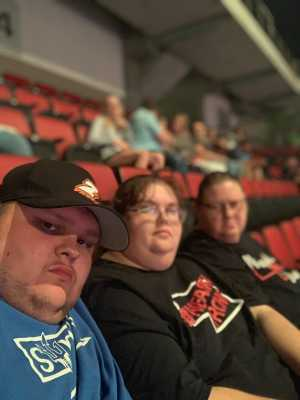 William attended Carrie Underwood: the Cry Pretty Tour 360 - Country on Jun 23rd 2019 via VetTix