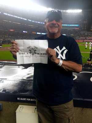 Charles attended New York Yankees vs. Tampa Bay Rays - MLB - Premium Seating on Jun 18th 2019 via VetTix