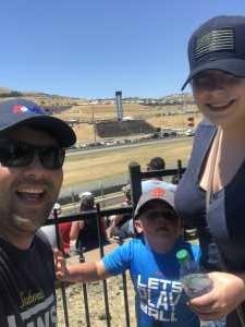 Jesus attended Toyota Save Mart 350 - Monster Energy NASCAR Cup Series - Kyle Larson First Responders Appreciation on Jun 23rd 2019 via VetTix