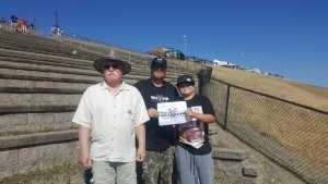 Jason attended Toyota Save Mart 350 - Monster Energy NASCAR Cup Series - Kyle Larson First Responders Appreciation on Jun 23rd 2019 via VetTix