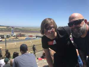 Rhino attended Toyota Save Mart 350 - Monster Energy NASCAR Cup Series - Kyle Larson First Responders Appreciation on Jun 23rd 2019 via VetTix