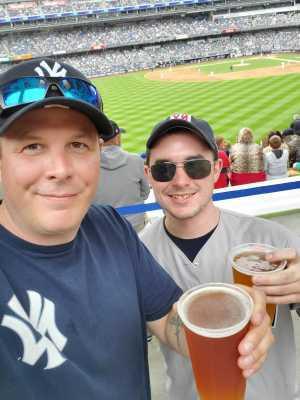 Art R attended New York Yankees vs. Tampa Bay Rays - MLB on Jun 19th 2019 via VetTix