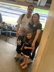 Patrick attended New York Yankees vs. Tampa Bay Rays - MLB on Jun 19th 2019 via VetTix