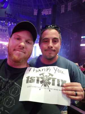 Derek attended Jennifer Lopez - Wednesday Night on Jun 19th 2019 via VetTix