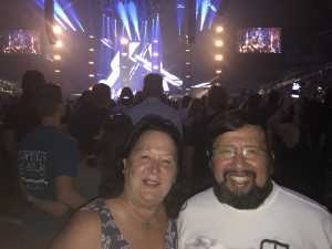 Thomas attended Jeff Lynne's Elo With Special Guest Dhani Harrison - Pop on Jun 24th 2019 via VetTix