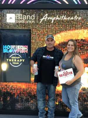 Camomile attended Hootie & the Blowfish: Group Therapy Tour - Pop on Jun 21st 2019 via VetTix