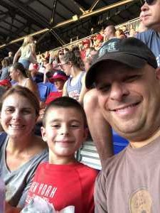 Brian M attended New York Red Bulls vs. New England Revolution - MLS on Aug 17th 2019 via VetTix