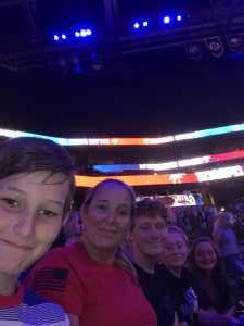Darlene attended 2019 Warrior Games Opening Ceremony Feat. Hunter Hayes on Jun 22nd 2019 via VetTix