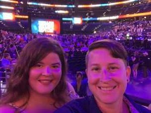 Amber attended 2019 Warrior Games Opening Ceremony Feat. Hunter Hayes on Jun 22nd 2019 via VetTix