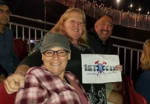 ARMANDO attended Hootie & The Blowfish: Group Therapy Tour on Jun 23rd 2019 via VetTix