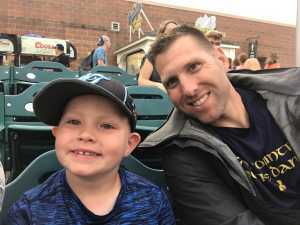 Andrew attended Lakewood BlueClaws vs. Hickory Crawdads - MiLB - Vets Night Out on Jul 11th 2019 via VetTix