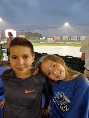 Frank attended Lakewood BlueClaws vs. Hickory Crawdads - MiLB - Vets Night Out on Jul 11th 2019 via VetTix