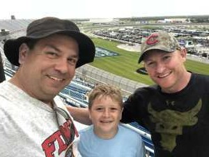 Johnie attended 2019 CLS MENCS Camping World 400 - Monster Energy NASCAR Cup Series on Jun 30th 2019 via VetTix