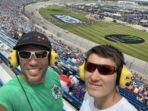 Jerry attended 2019 CLS MENCS Camping World 400 - Monster Energy NASCAR Cup Series on Jun 30th 2019 via VetTix