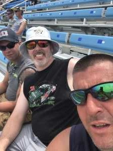 Joshua  attended 2019 CLS MENCS Camping World 400 - Monster Energy NASCAR Cup Series on Jun 30th 2019 via VetTix