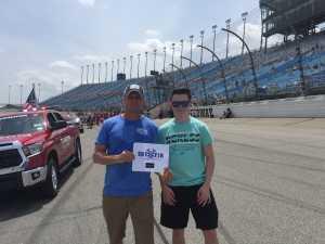 Scott attended 2019 CLS MENCS Camping World 400 - Monster Energy NASCAR Cup Series on Jun 30th 2019 via VetTix