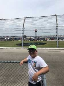Andy attended 2019 CLS MENCS Camping World 400 - Monster Energy NASCAR Cup Series on Jun 30th 2019 via VetTix