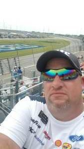 Jeffrey attended 2019 CLS MENCS Camping World 400 - Monster Energy NASCAR Cup Series on Jun 30th 2019 via VetTix