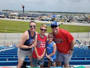 matthew attended 2019 CLS MENCS Camping World 400 - Monster Energy NASCAR Cup Series on Jun 30th 2019 via VetTix